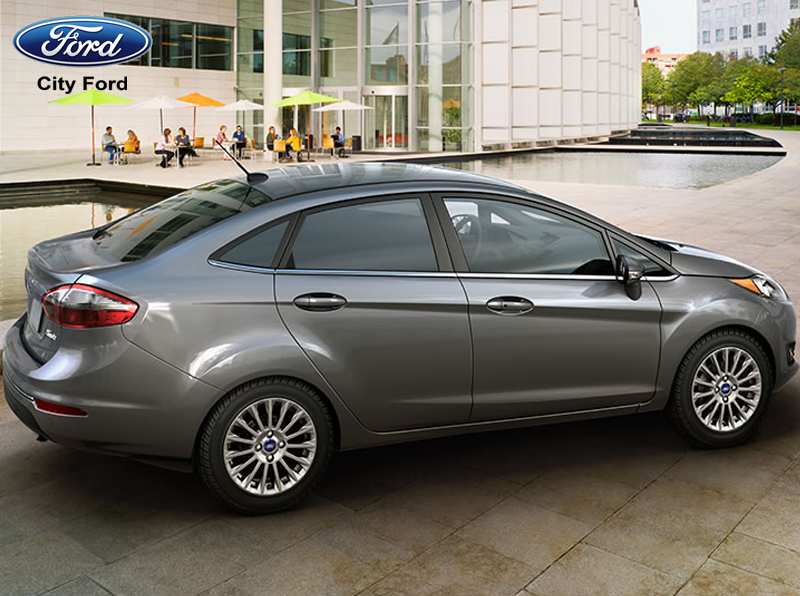 Thiết kế đẹp mắt của Ford Fiesta 1.5 Titanium