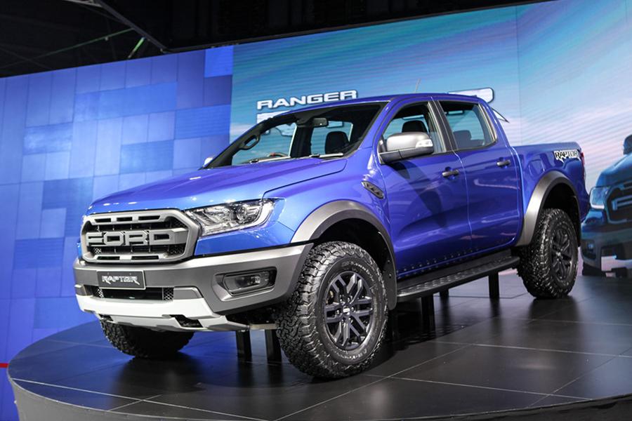 Ford Ranger Raptor 2021 hoàn toàn mới